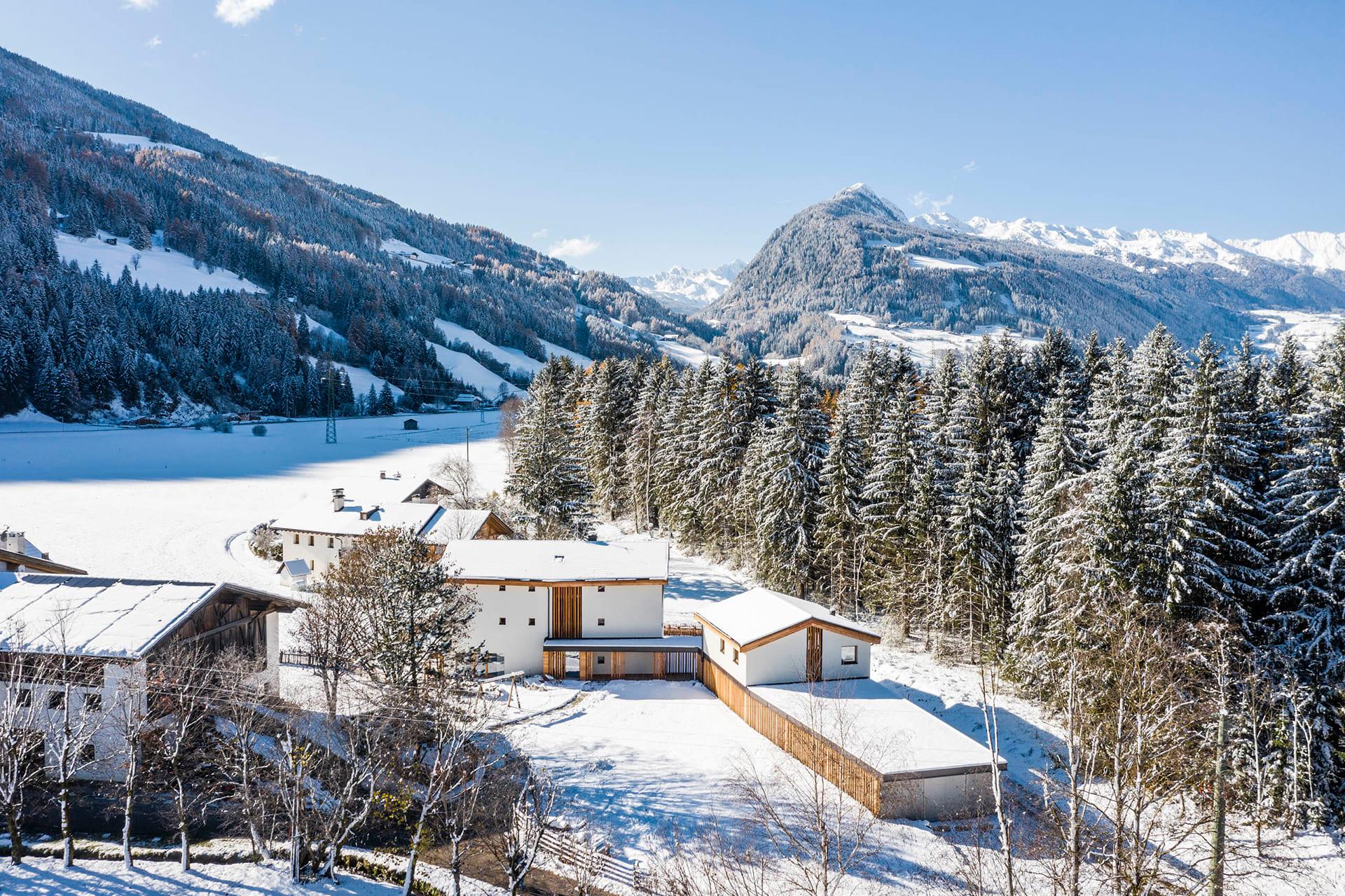 Lichtung Woldererhof - Winter