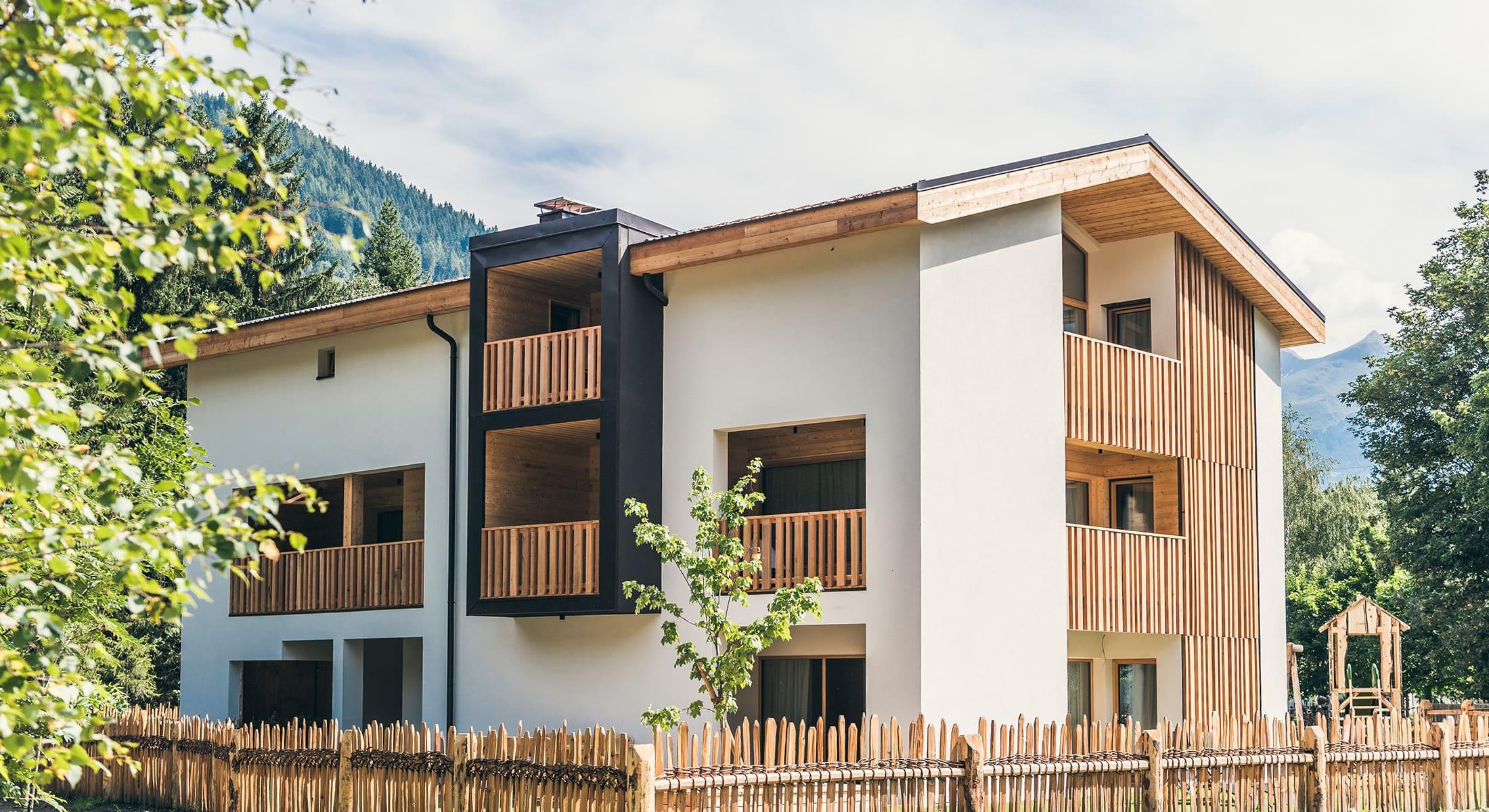 Lichtung Woldererhof - Hausansicht