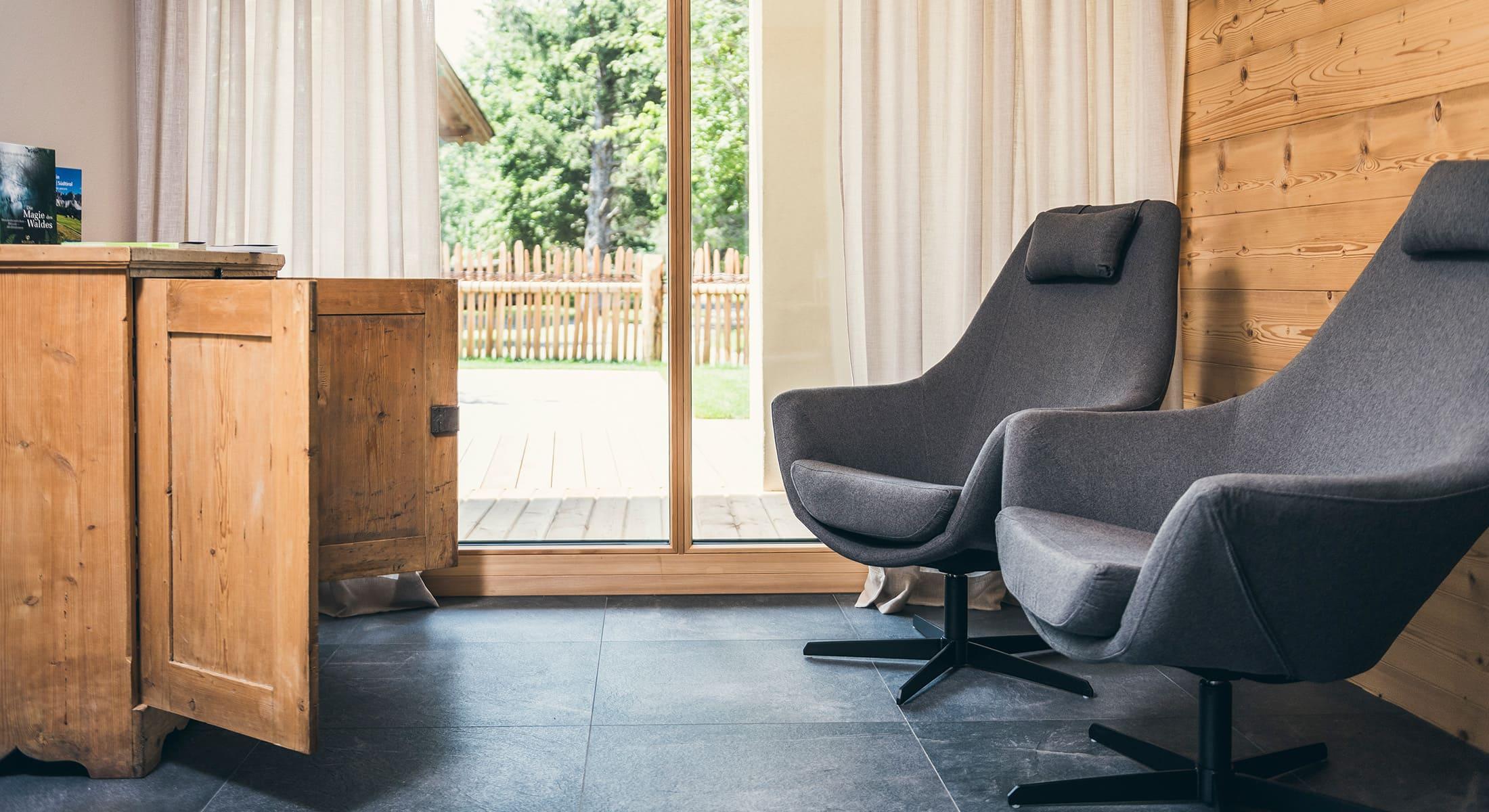 Lichtung Woldererhof - Sessel