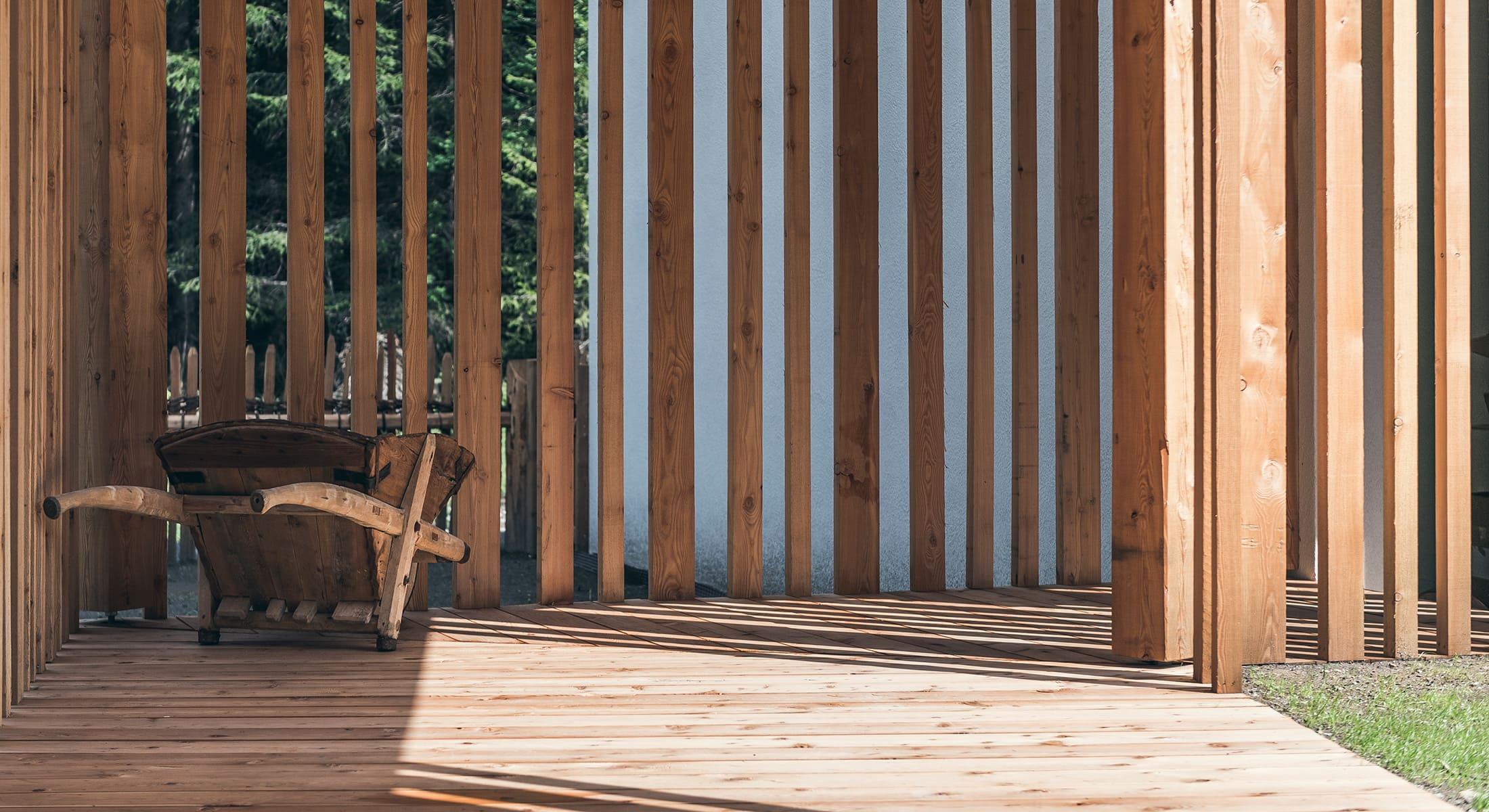 Lichtung Woldererhof - Garten und Terrasse