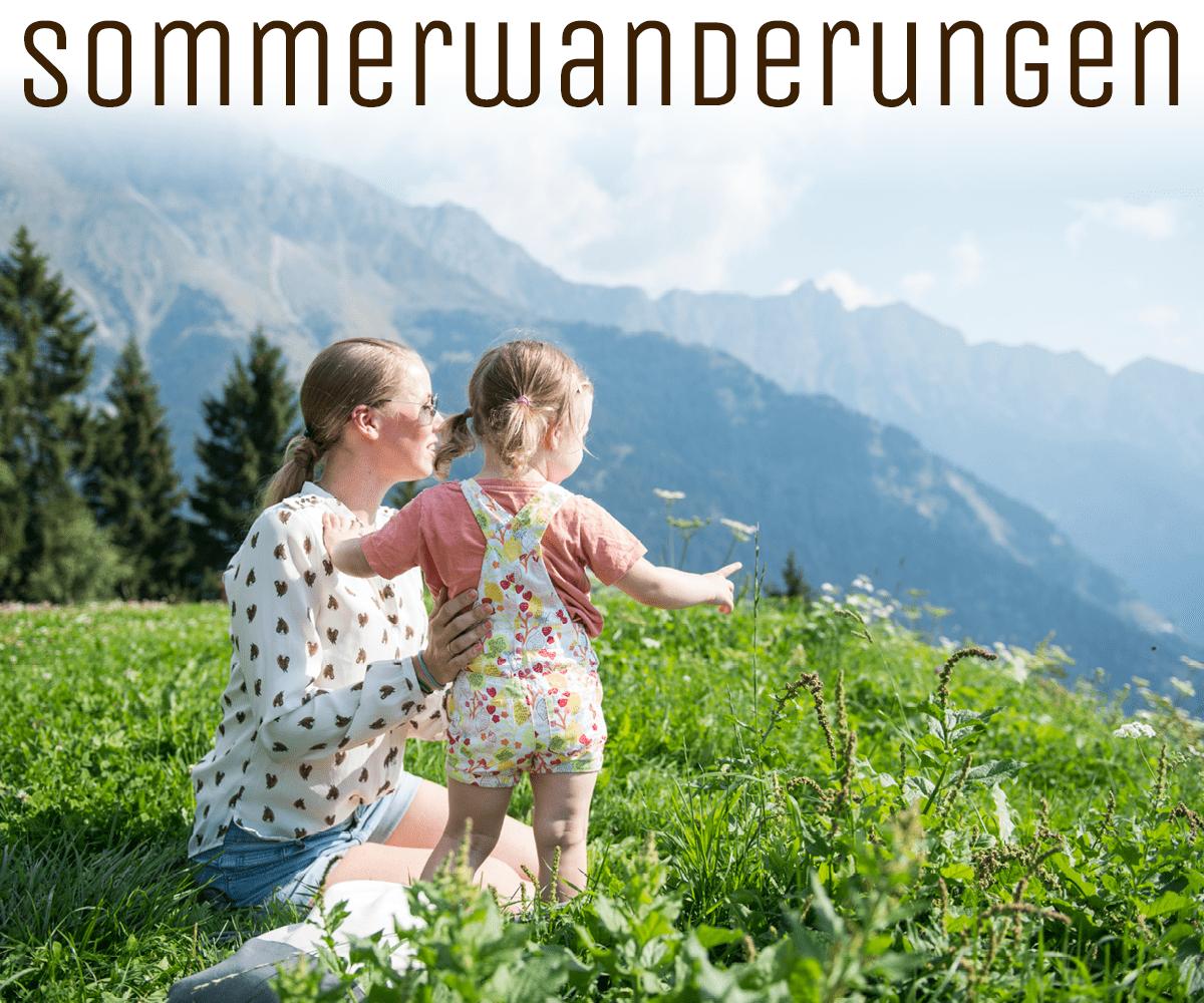 Lichtung Woldererhof - Sommerwanderungen
