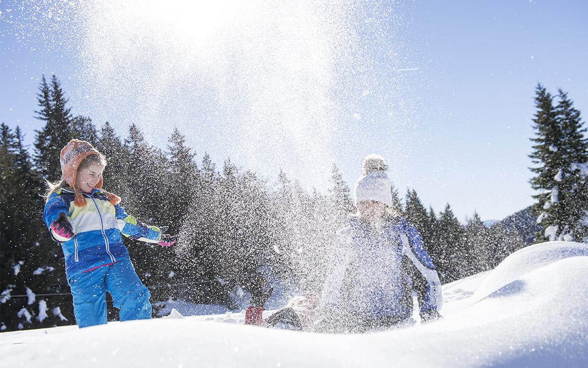 Lichtung Woldererhof - Schneeschuhwandern im Winter