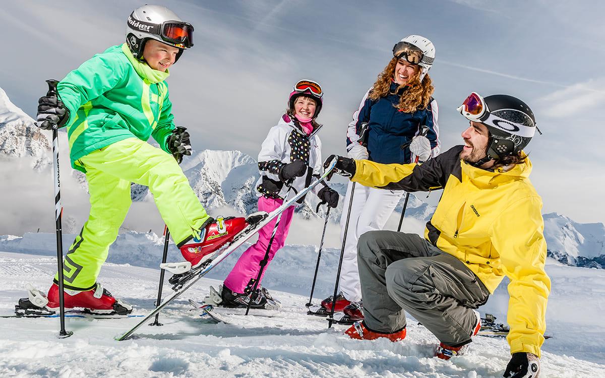 Lichtung Woldererhof - Skifahren mit der ganzen Familie im Winter