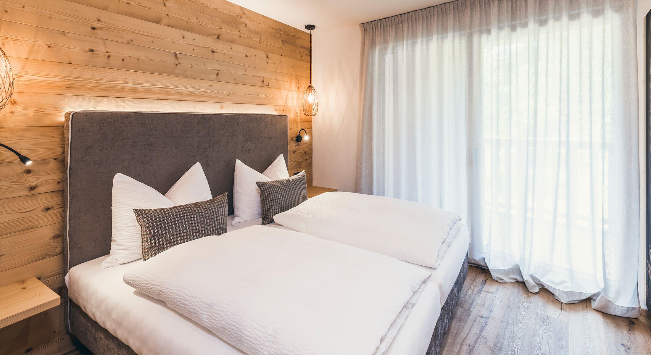 Lichtung Woldererhof - Südtirol schlafen