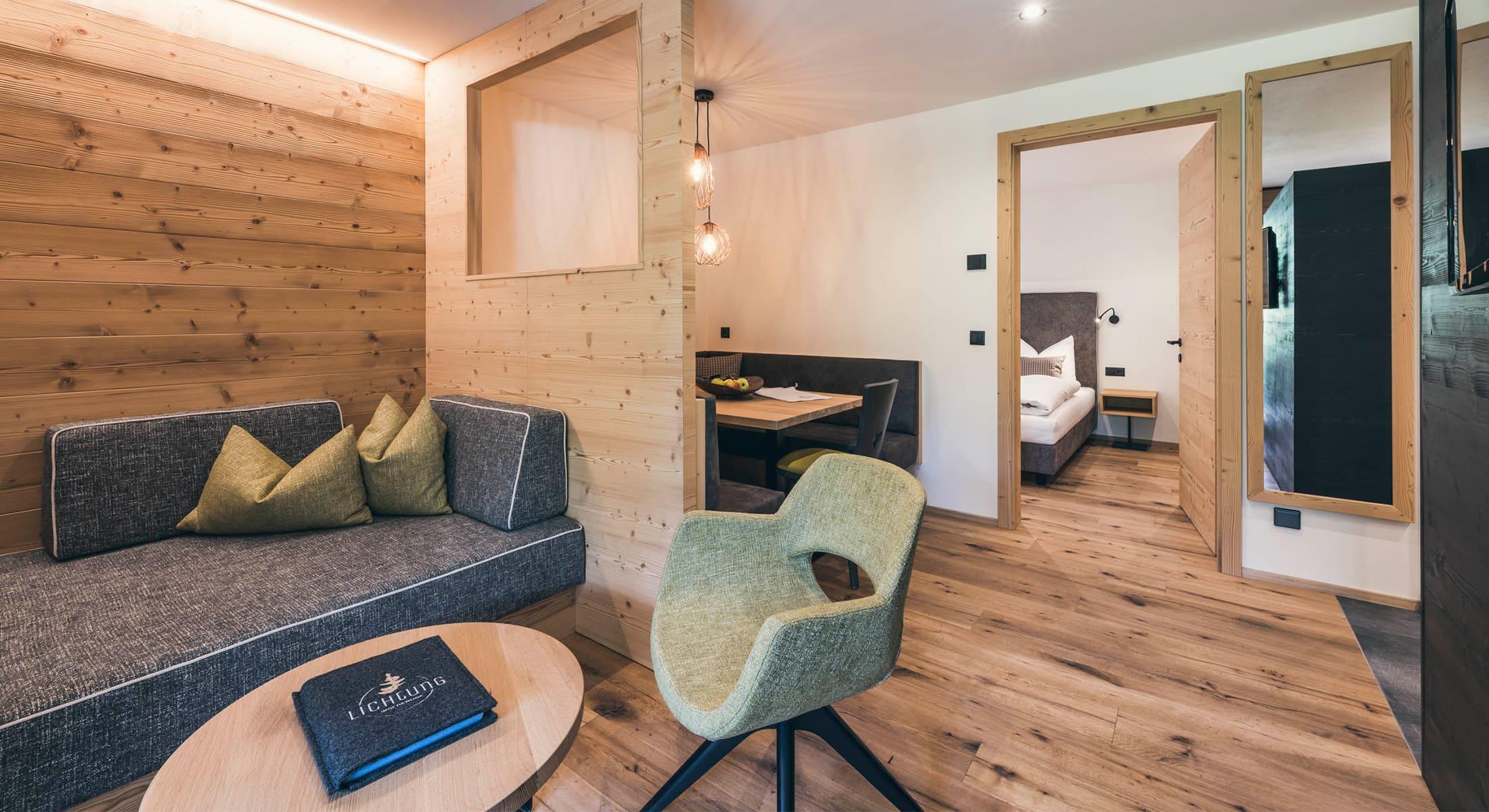 Lichtung Woldererhof - Wohnung in Südtirol